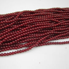 NEW Jewelry 100pcs 4mm Ball Glass crystal Beads for Fit Bracelet Necklaces AAD37