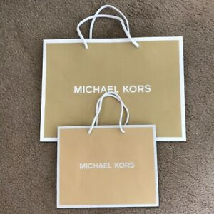 Michael Kors MK Retail Paper Shopping Gify Bag Small or Medium New Choose Size
