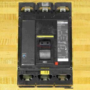 Square D MJM36400 Circuit Breaker, 400 Amp, 65 kAIR, NEW!