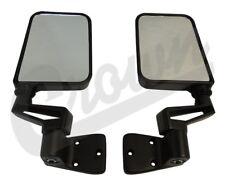 Black Mirror Kit Jeep 1987 To 2006 Yj Tj Wrangler Crown 82200834K