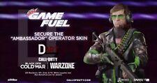 Call of Duty Black Ops Cold War Gamefuel Adler Ambassador Skin