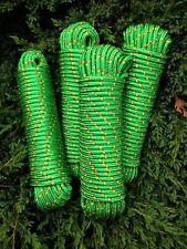 N. 16 verde polipropilene corda 8 MM, 30m, sartiame, ancoraggio Guinzaglio, fisso realizzatori Guinzaglio, Rope