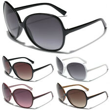 Oversized Round Women's Ladies Vintage Retro 80s Big Designer Sunglasses Cheap