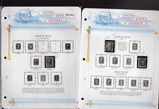 U. S. Sc #69 //  #183 M & U On Album Pages SCV. $775.00 (XX249)