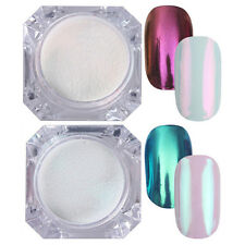 2 Boxen BORN PRETTY Mirror Nail Powder Nagel Kunst Puder Glitter Chrome Pigment