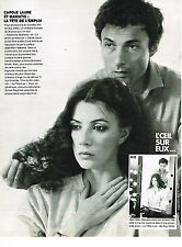 PUBLICITE ADVERTISING 104  1980  JEAN-MARC MANIATIS  coiffe  CAROLE LAURE