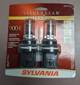 Headlight Bulb-Silverstar Ultra - Twin Pack Sylvania 9004SU BP TWIN