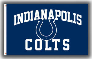 Indianapolis Colts Football Team Memorable Flag 90x150cm3x5ft Fan Apparel banner
