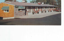 VALLEY BROOK MOTEL, NEW HARFORD, NY / 1958-59 NEVER MAILED POSTCARD