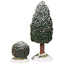 Dept 56 - Village Accessories - Holly Tree & Bush
