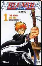 "manga Bleach Tome 1 Tite KUBO Neuf Glenat ""The Death and The Strawberry"" Shonen"