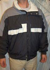 Obermeyer snow ski jacket coat black thinsulate size xxl runs smaller LARGE