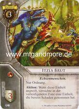 Warhammer Invasion - 1x Itzls Brut  #033