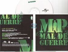 MATT POKORA mal de guerre CD PROMO