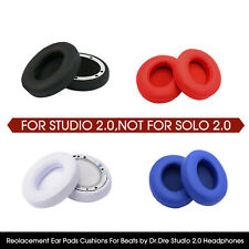 2pcs Ear Cushion for Beats By Dr Dre Studio 2.0 Replacement Pad Wireless Headset
