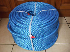 220m x 18mm Blue Polypropylene Rope Coil