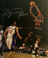 Michael Jordan HOF Bulls Autographed Signed 8X10 Photo REPRINT
