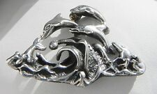 Charming! 12g Molina (or D'Molina) Taxco TM-90 sterling silver 925 brooch pin