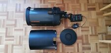 Celestron C8 with electronic focuser, feathertouch focuser, and accessories