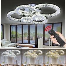 Kristall Deckenlampe Esszimmer Energiespar Deckenleuchte 88W-96W A++ Dimmbar