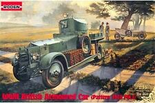 RODEN 801 1/35 WWII British Armoured Car (Pattern 1920)
