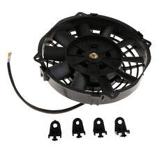 Universal 12 Zoll Elektrol/üfter Motorl/üfter K/ühlerl/üfter f/ür Auto aus ABS und Stahl 12V 80W