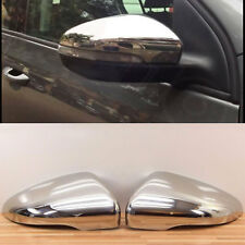 2 CASE / FRAME MIRRORS VW GOLF 6 SEDAN 3 5 DOOR 10/2008-11/2012 CHROME RETRO
