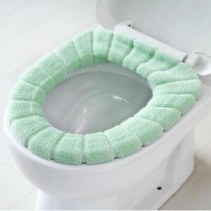 Toilet Seat Cushion Warm Fleece Toilet Seat Mat Toilet Seat Cover Luxury Thick R