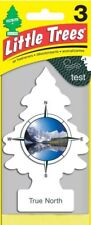 Little Trees Car Air Freshener, True North. Pack of 3.  /  FREE SHIPPING