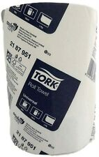 2x 90m Paper Hand Towels Tork Towel Roll Bulk Industrial Kitchen White 1Ply