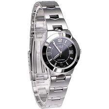 100% Genuine Latest Casio LTP1241D-1A Black Dial Ladies Date Analog Dress Watch