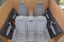 Audi Q5 FY Lederausstattung Sport Leder Sitzausstattung Q5 Grau Leather Seats