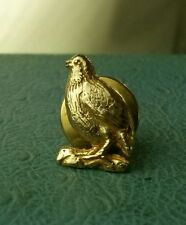 James Avery Retired 14k Quail Bird Tac Solid gold hunting