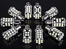10 x Super Bright Pure White BAY15D 1157 Tail Stop Brake Light 40 SMD LED Bulbs