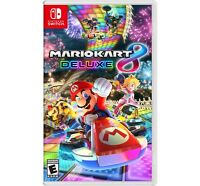 Brand New Mario Kart 8 Deluxe for Nintendo Switch Racing Game