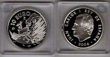 SPANIEN   10 Euro 2004   EU-Erweiterung   Silber/PP