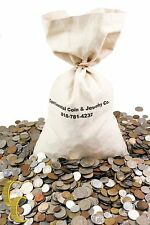 Unsearched World Coins Lots (1lb) Mixed Foreign Coin by Weight, Full Pound