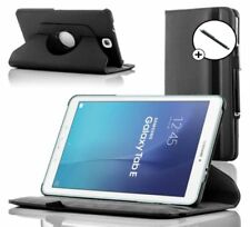 "Custodie e copritastiera nera in pelle per tablet ed eBook 9.6"""