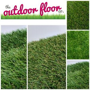 Choose your Length FREE Delivery Artificial Grass Lawn Fake Turf 2 Metre Wide