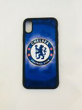 CHELSEA FC iPhone X Rubber Case Aluminium Cover Perfect Fitted Brand New