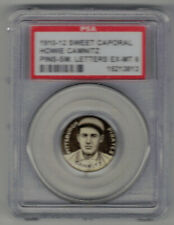 1910-12 SWEET CAPORAL PIN SMALL LETTERS HOWIE CAMNITZ - PSA EX-MT 6 SWEET!