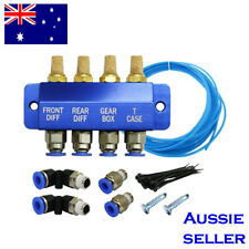 DIFF BREATHER KIT -4 point- BLUE universal fits Toyota Landcruiser Hilux Prado