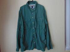 NWOT Men's ExOfficio Green fishing Shirt-XXL/XXL