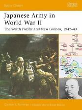 "Japanese Army in World War II: ""The South Pacific and New Guinea, 1942-43"""
