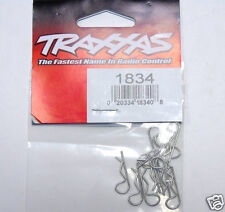 1834 Traxxas RC Car Parts Bodyshell Body Clips Standard 1:10 Size Brand New UK
