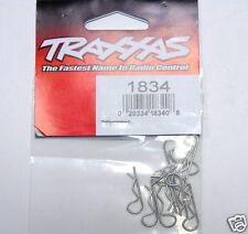 1834 Traxxas RC Car Parts Bodyshell Body Clips Standard 1:10 Size Brand New UK