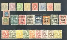 CURACAO 26 STAMPS -CV € 135 - * MH -- MOST VF