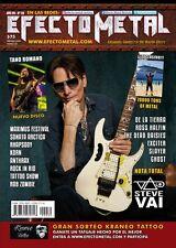 Steve Vai Rare Magazine Efecto Metal Year Vii # 30 Argentina 2017