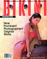 Bikini Magazine Issue # 1 1987 Very Hard to find in great condition