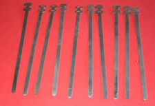 82-9918 ALUMINIUM CABLE TIES TRIUMPH NORTON BSA VINTAGE STYLE X 10 CLASSIC